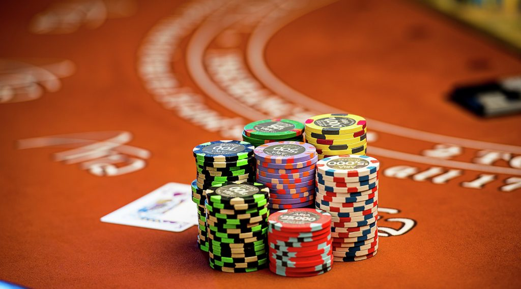 Aria Casino Table Games Chips Cards